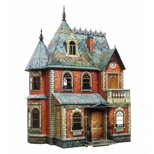Casa de Muñecas Victoriana 68 cm