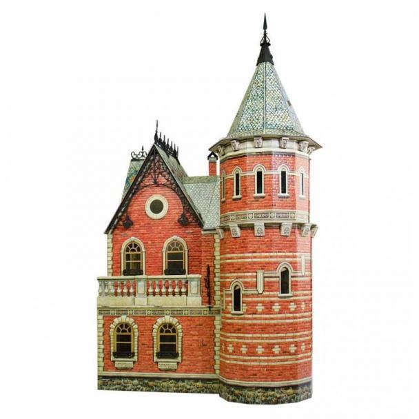 Casa de Muñecas Victoriana 80 cm