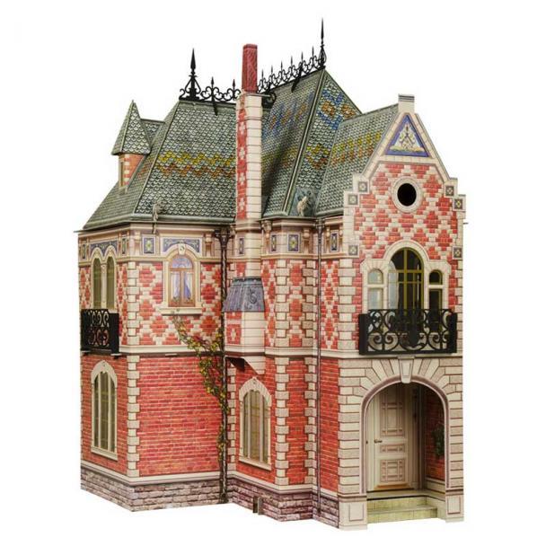 Casa de Muñecas Victoriana 60 cm