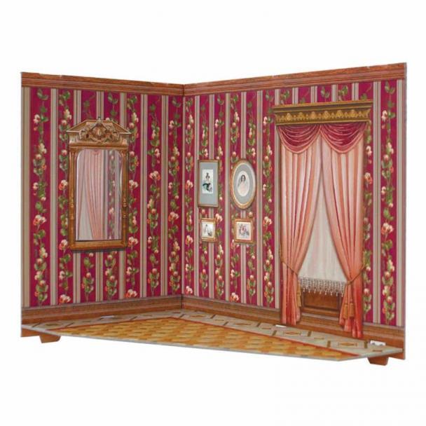 Salón para Casa de Muñecas Serie Rumboksy