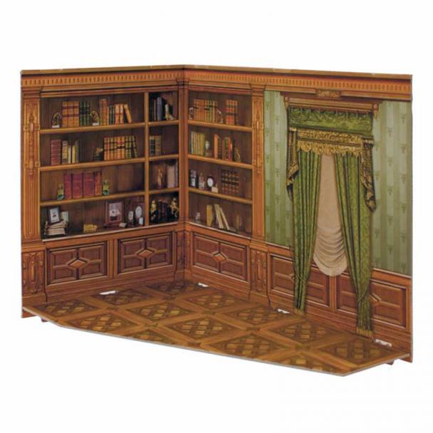 Biblioteca para Casa de Muñecas Serie Rumboksy
