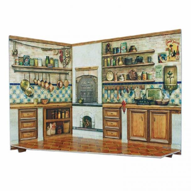 Cocina para Casa de Muñecas Serie Rumboksy