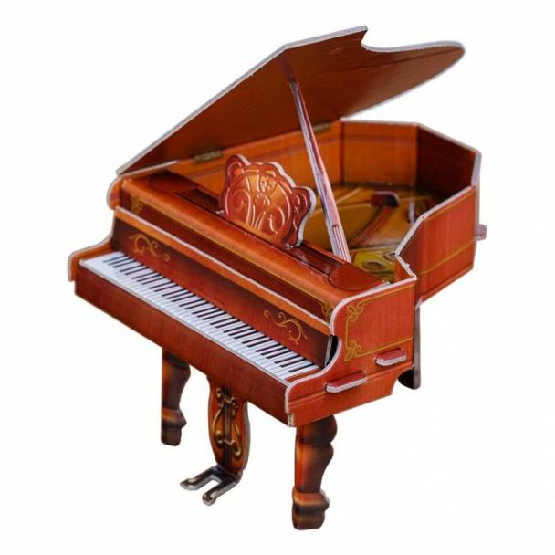 Piano de Cola Roble