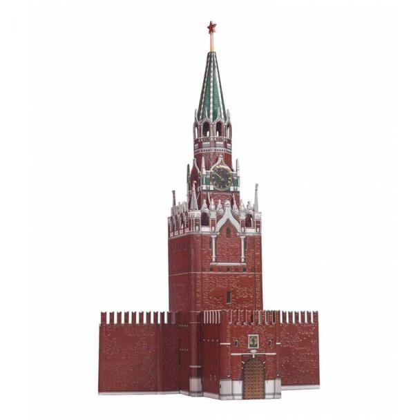 Torre Spásskaya, El Kremlin, Moscú