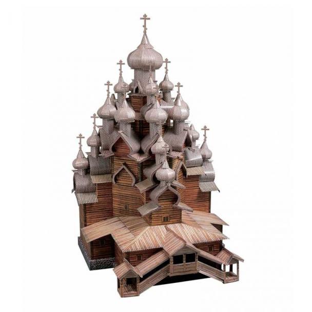 Iglesia de la Transfiguración, Isla Kizhi, Rusia