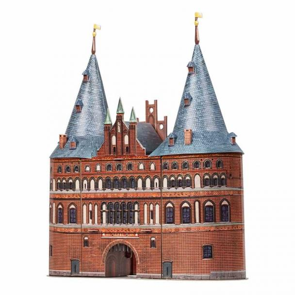 Puerta de Holsten, Lübeck, Alemania