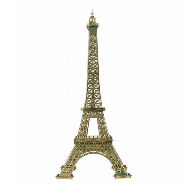 La Torre Eiffel de París - Dorada