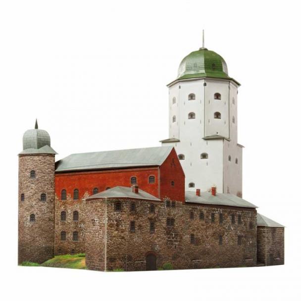 Castillo de Vyborg, Rusia