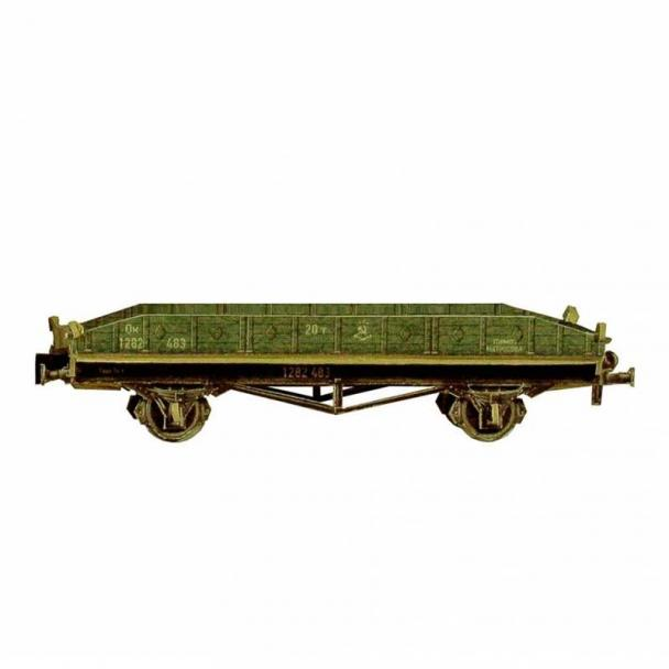 Vagón Plataforma Biaxial 20 Toneladas