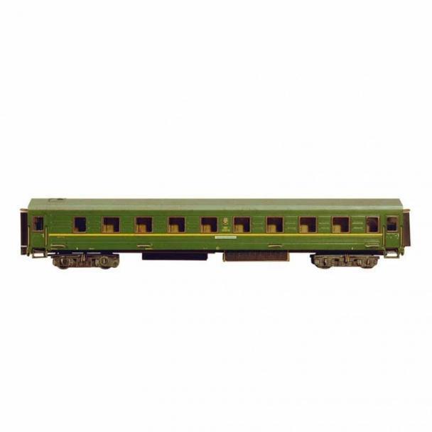 Vagón con Habitaciones - Verde