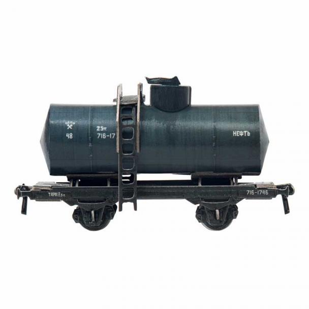 Vagón Cisterna Biaxial - Petróleo