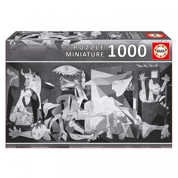 """Puzzle 1000 Piezas Guernica, P. Picasso, """"Miniature"""""""