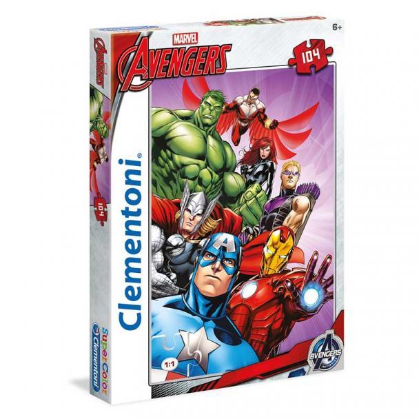 Puzzle 104 Piezas Los Vengadores