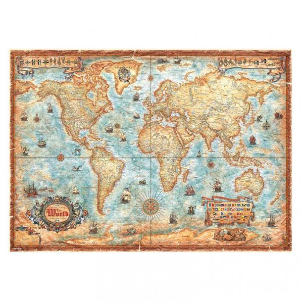 Puzzle 3000 Piezas The World