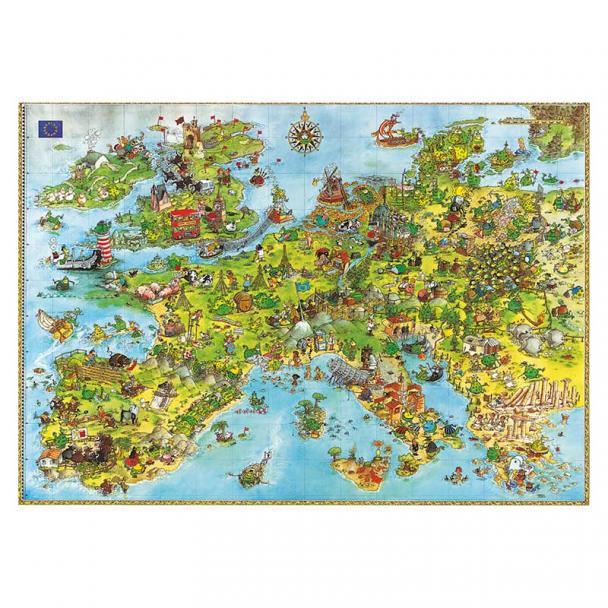 Puzzle 4000 Piezas United Dragons Of Europe