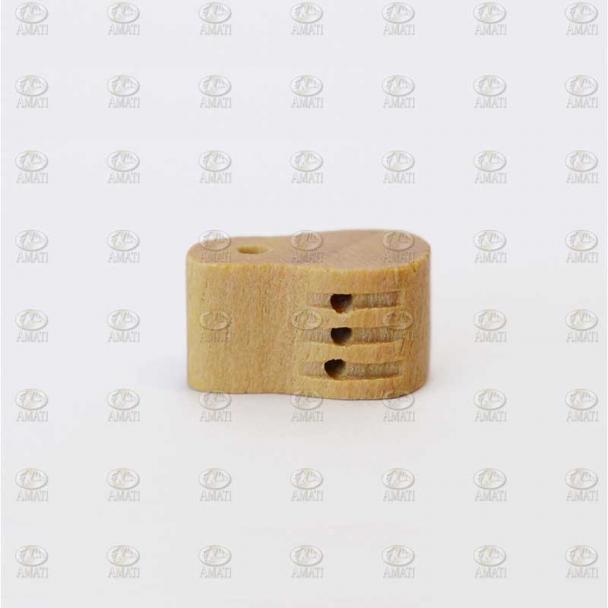 Cuadernal de Violín de Boj 3 Agujeros 7 mm (5 uds)
