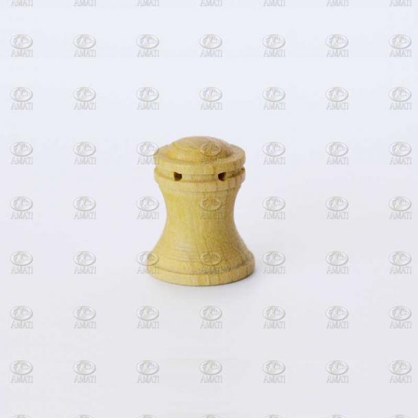 Cabrestante Vertical 15 mm Madera de Boj (2 uds)