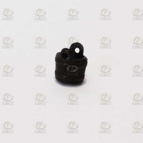 Cubo de Metal Bruñido 5 mm sin Asa (4 uds)