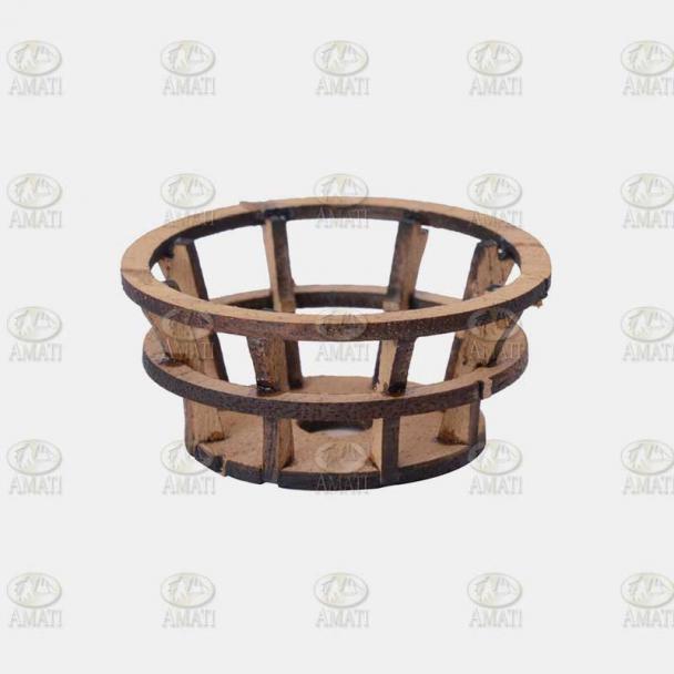 Cofa de Madera 42 mm Corte Láser