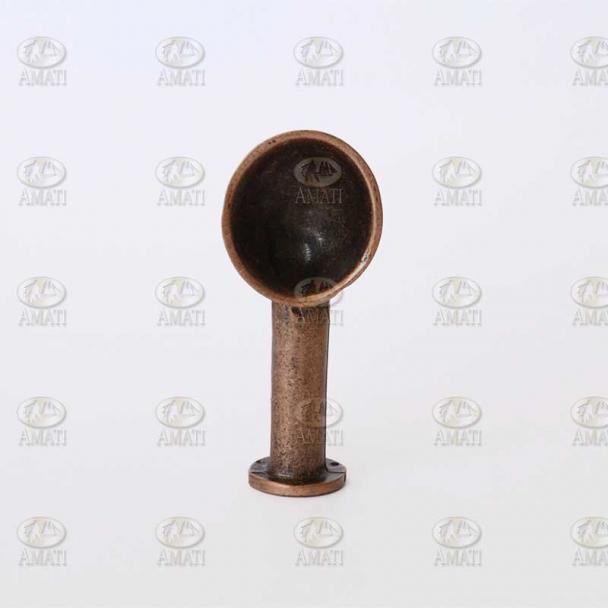 Manguerote de Ventilación 60 mm Metal Envejecido