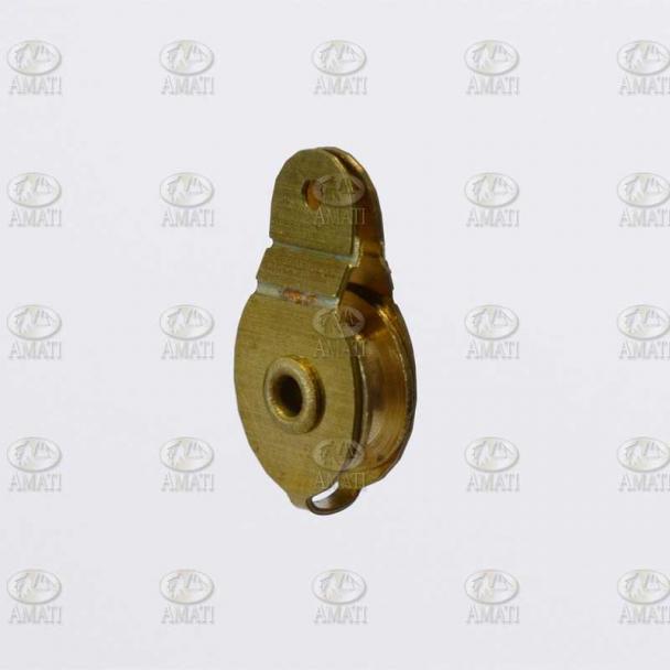 Garrucha de Latón 12x6 mm Tipo A
