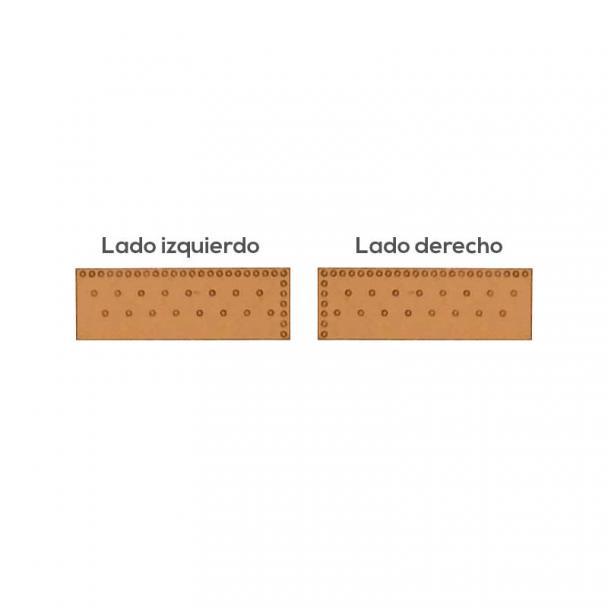 Placas de Cobre 6x19 mm 1/64 (364 uds)