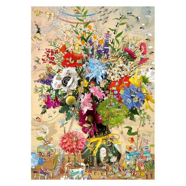 Puzzle 1000 Piezas Flower's Life