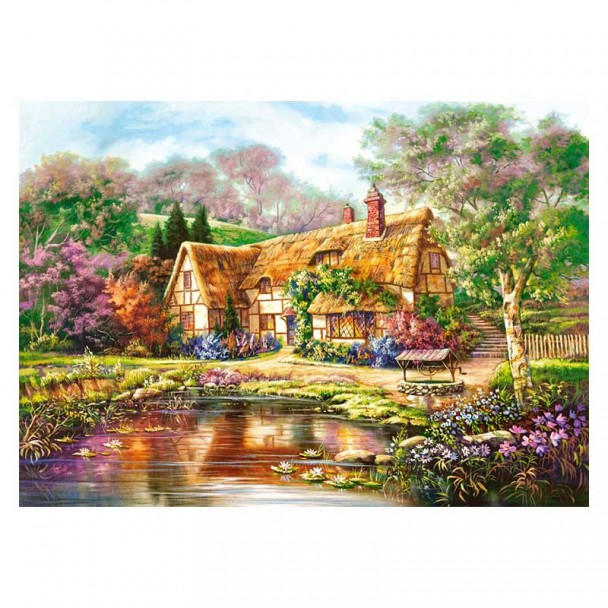 Puzzle 3000 Piezas Twilight at Woodgreen Pond