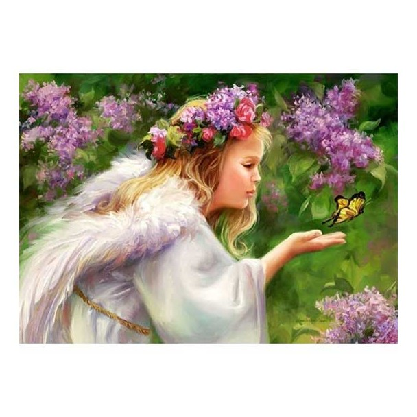 Puzzle 1000 Piezas Butterfly Angel