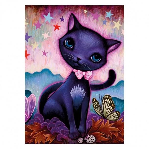 Puzzle 1000 Piezas Black Kitty