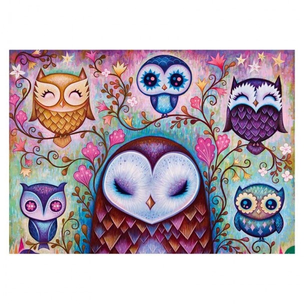 Puzzle 1000 Piezas Great Big Owl