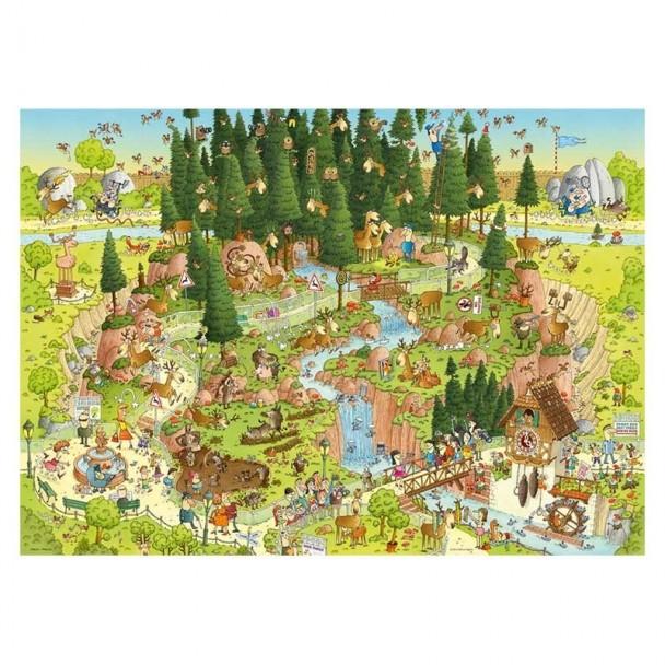 Puzzle 1000 Piezas Black Forest Habitat