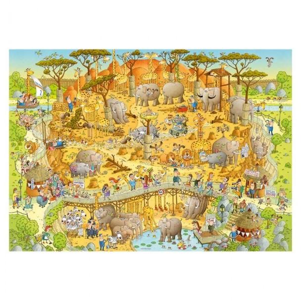 Puzzle 1000 Piezas African Habitat