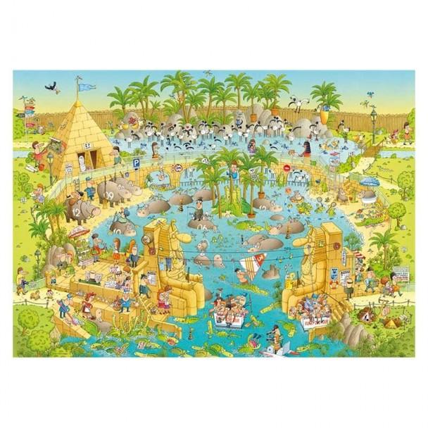Puzzle 1000 Piezas Nile Habitat