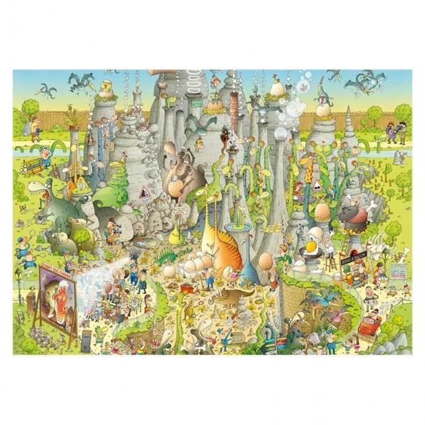 Puzzle 1000 Piezas Jurassic Habitat