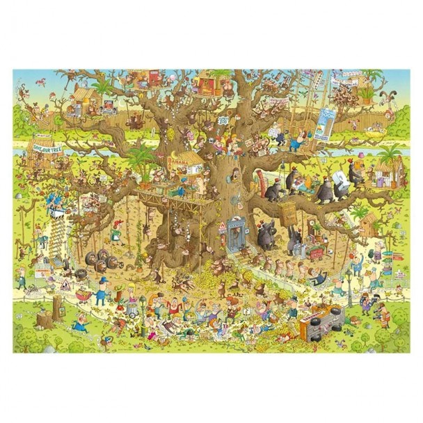 Puzzle 1000 Piezas Monkey Habitat