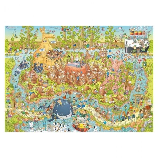 Puzzle 1000 Piezas Australian Habitat