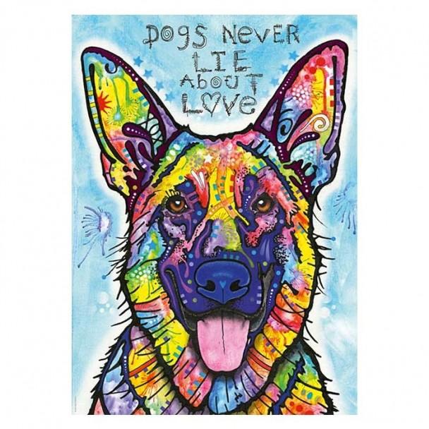 Puzzle 1000 Piezas Dogs Never Lie