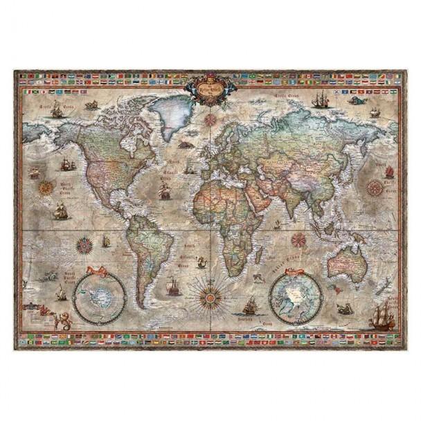 Puzzle 1000 Piezas Retro World