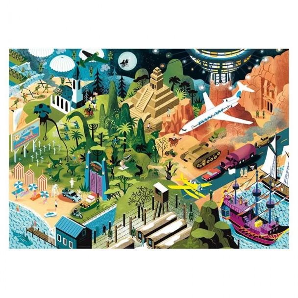 Puzzle 1000 Piezas Steven Spielberg Films