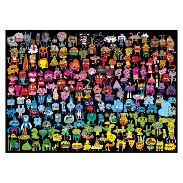Puzzle 1000 Piezas Doodle Rainbow