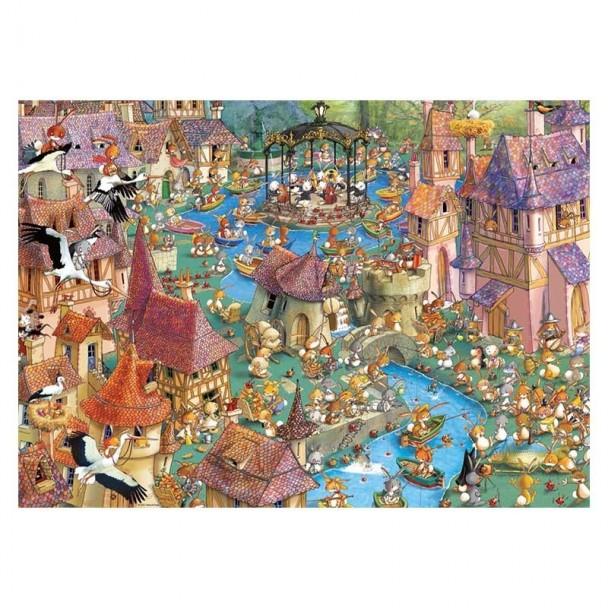 Puzzle 1000 Piezas Bunnytown