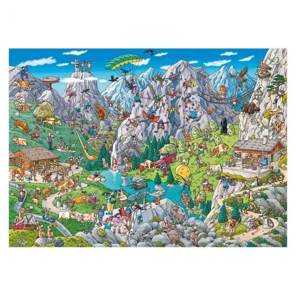 Puzzle 1000 Piezas Alpine Fun