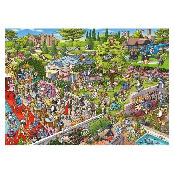 Puzzle 1000 Piezas Party Cats