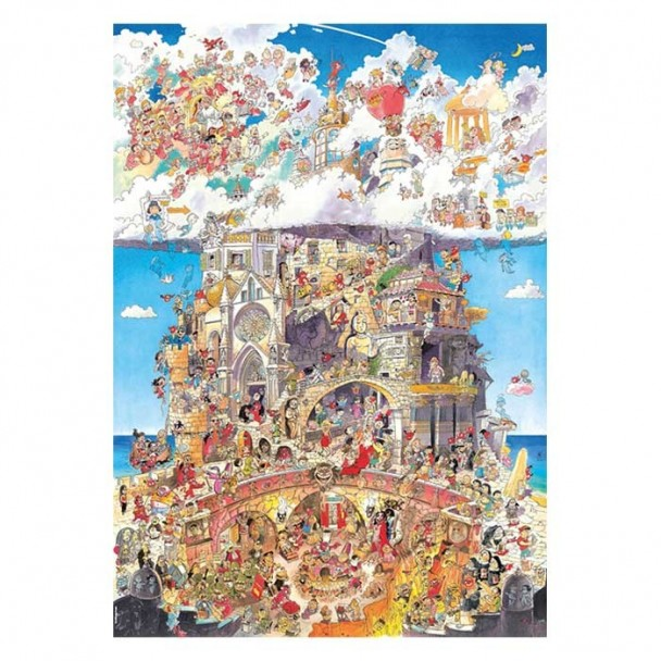 Puzzle 1500 Piezas Heaven and Hell