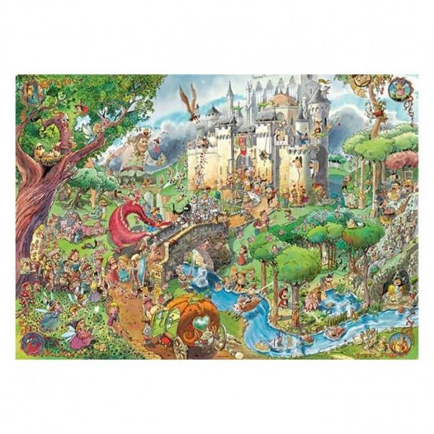 Puzzle 1500 Piezas Fairy Tales
