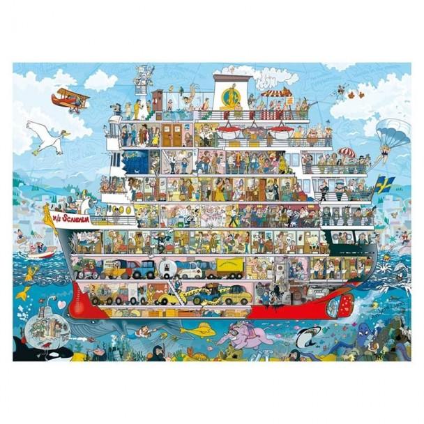 Puzzle 1500 Piezas Cruise