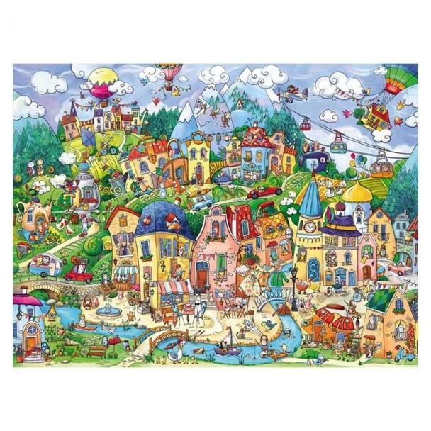 Puzzle 1500 Piezas Happytown