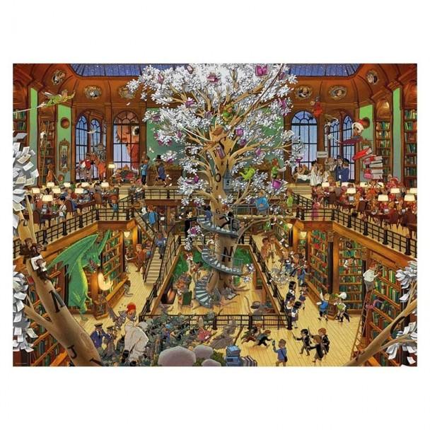 Puzzle 1500 Piezas Library