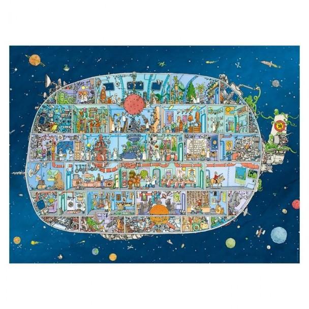 Puzzle 1500 Piezas Spaceship